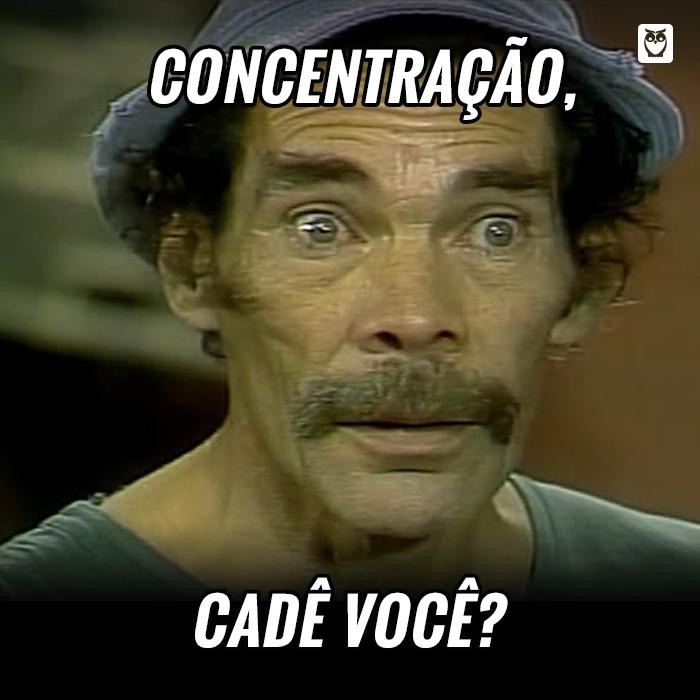 Chega mais, concentração! #estudos #concentração #motivação #concurseiros #seumadruga