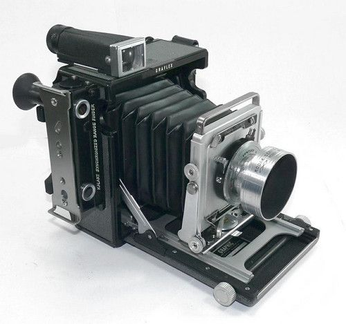 Graflex Century Graphic 2x3 Press Camera w 103mm Graftar Lens Graflok Flash   eBay