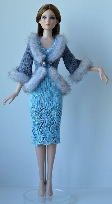 Выкройки для куклы барби пижама