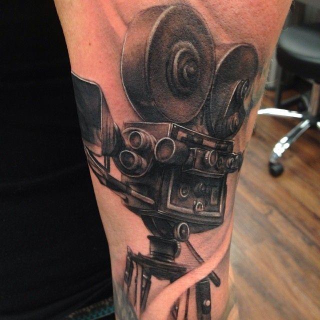 Old Movie Camera Tattoo Flash Movie Tattoos Camera Film Tattoo Camera Tattoos