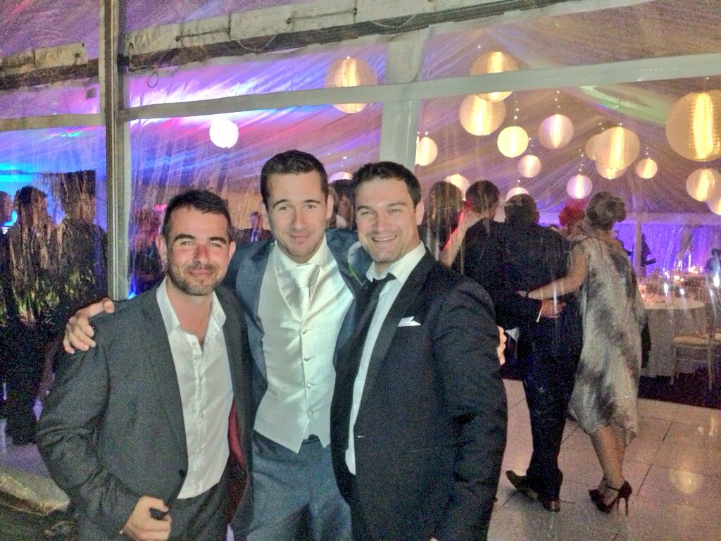 Rock Revolution Performing At The Wedding Of Hollyoaks And Now Hollywood Star Liverpool Band Barry Sloane Bands Cheshire