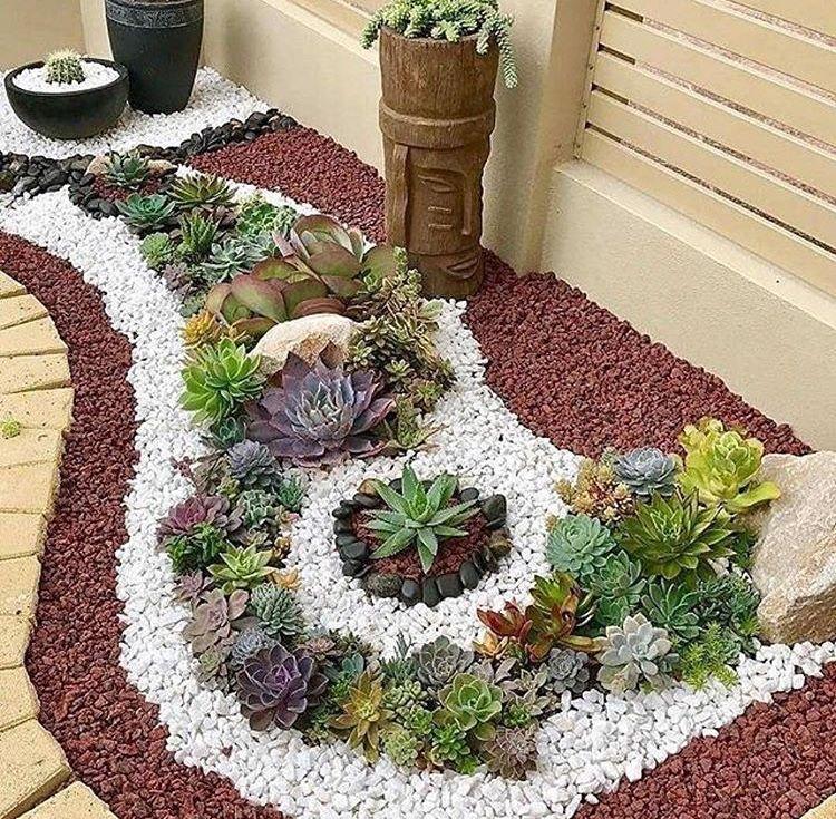 Front Yard Landscape Idea