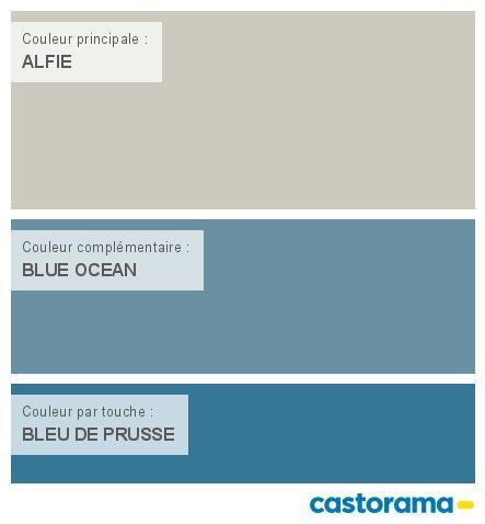 Castorama Nuancier Peinture - Mon Harmonie Peinture Alfie Satin De