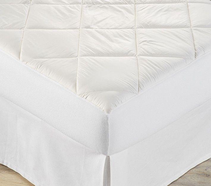 Cotton Mattress Pad Twin White Products Pinterest Mattress