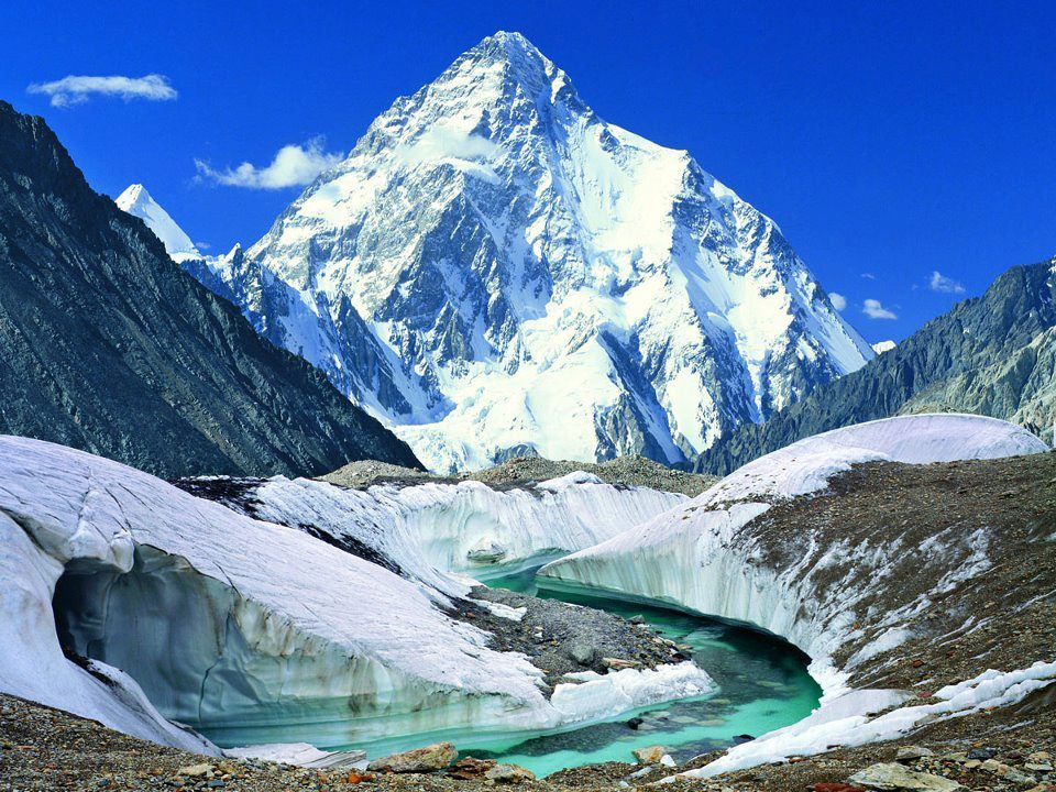 10 Heighest Mountains In The World | K2 mountain, Places to visit, Mountains