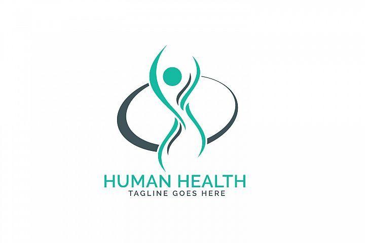 Human health care logo design 155392 logos design