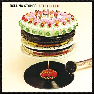 This album cover was the work of off-centre graphic designer Robert Brownjohn and shows the record being played while cakes and pizzas queue on the record spike. This makes more sense when you know that the original title for the album was Automatic Changer.  Bonus: The cakes on the album cover were made by the then-unknown cookery writer Delia Smith.