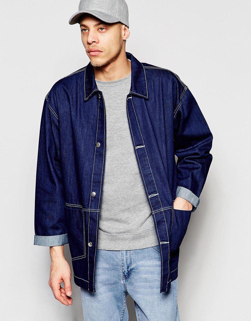 d2dc87744 Oversized Denim Chore Coat | The Perfect Jacket | Fashion, Denim ...