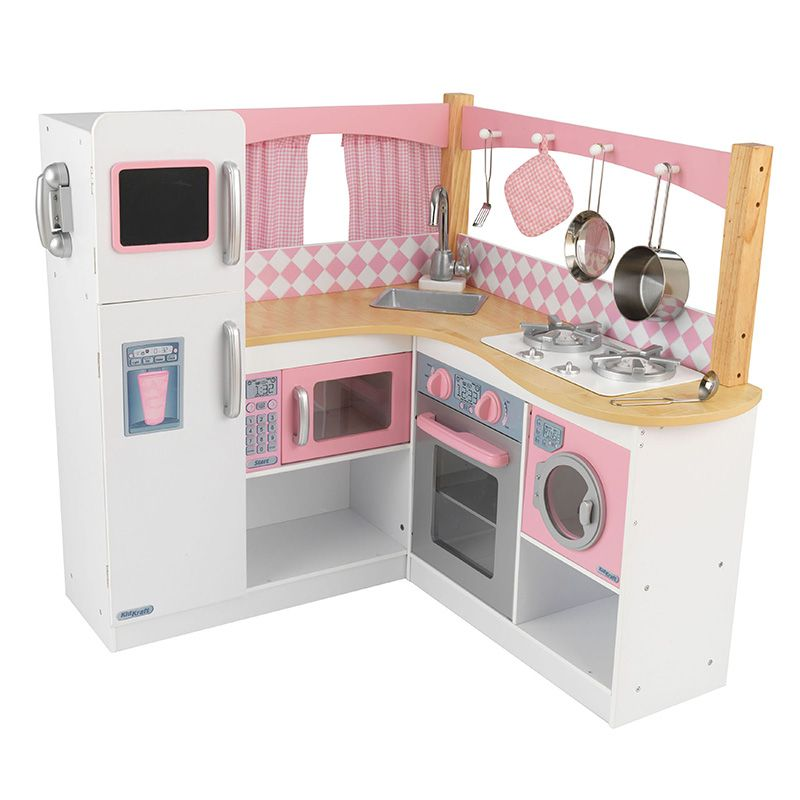 Kidkraft Cocina Gourmet Para Ninas Costco Mexico Play Kitchen