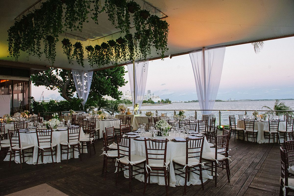 Modern Waterfront Wedding Tatiana Javier At The Grove Isle