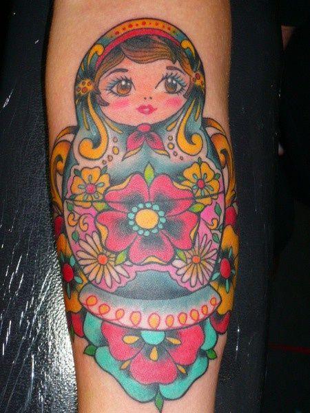 lovely day: tattoo love - matryoshka dolls