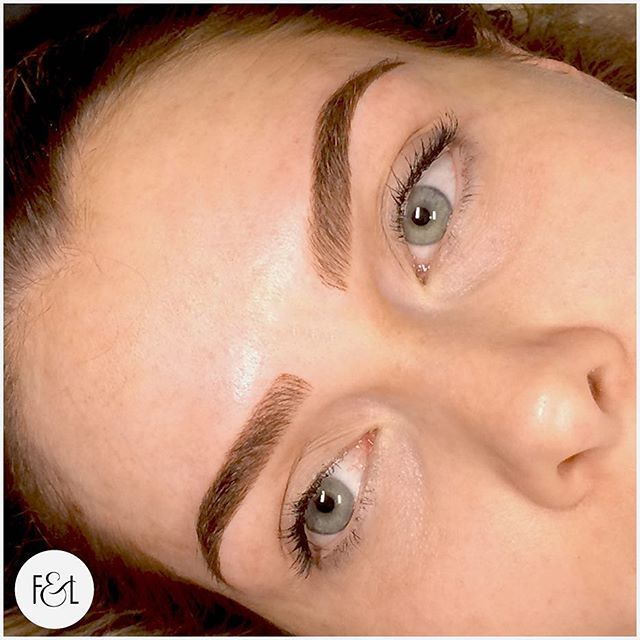 What a pair of brows! Ombré and feather touch combine for