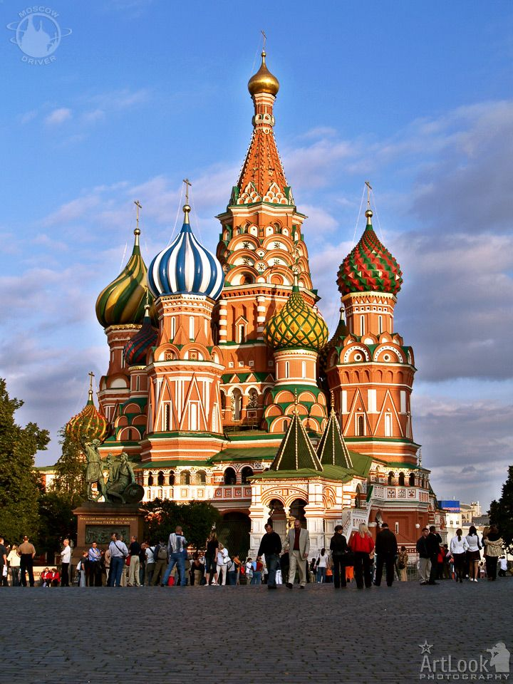 This is one of russia 39 s famous landmarks st basil 39 s for Famous landmarks in russia