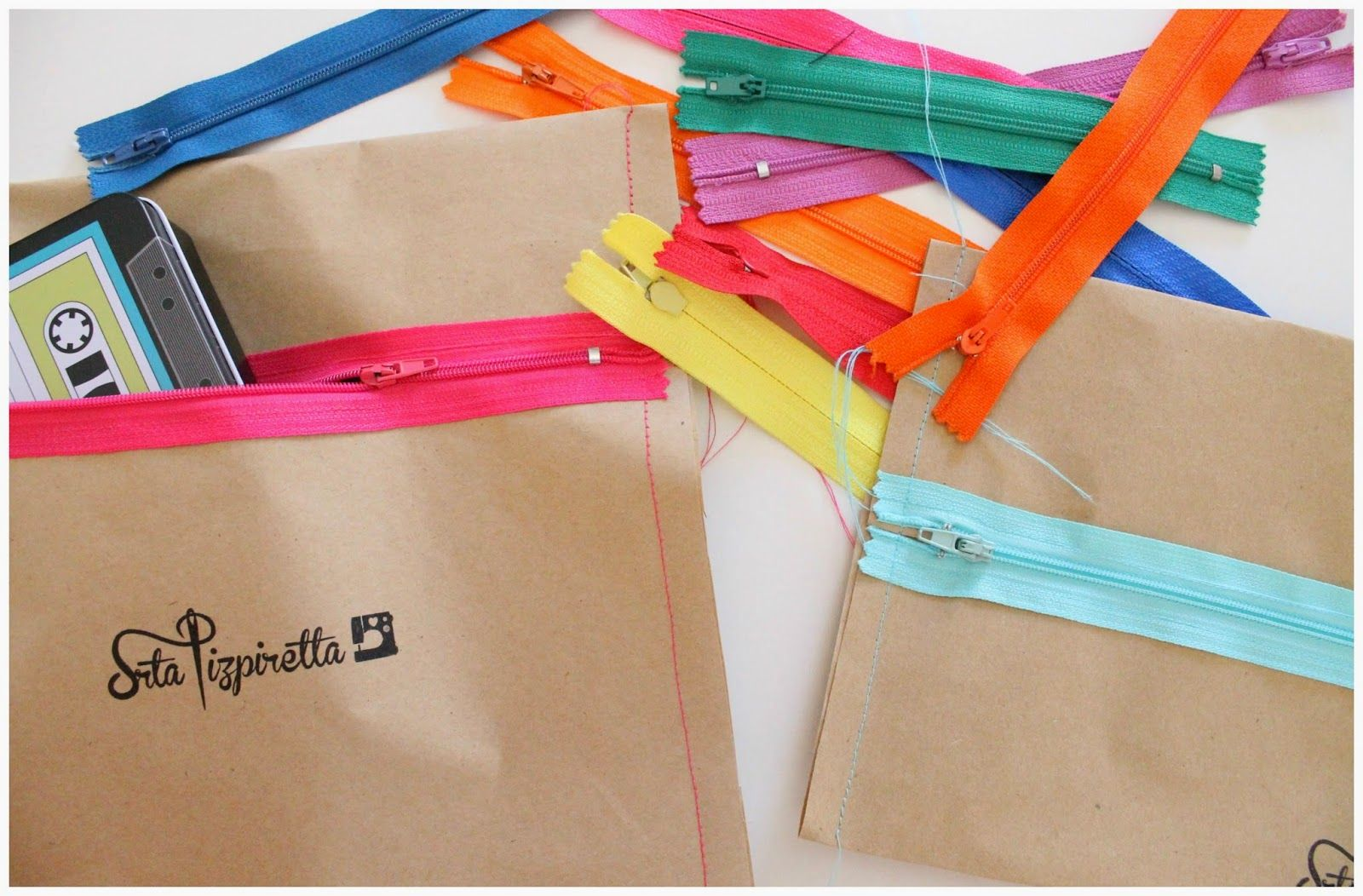 Srta.Pizpiretta: DIY: (Sew) Packaging Cosido