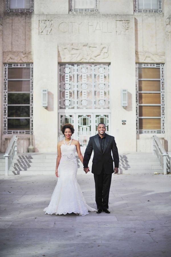 Naja Landon Houston City Hall Weddings Wedding Inspiration