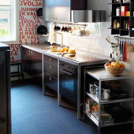 Freestanding kitchen ideas freestanding kitchen ikea for Cheap kitchen benchtop ideas