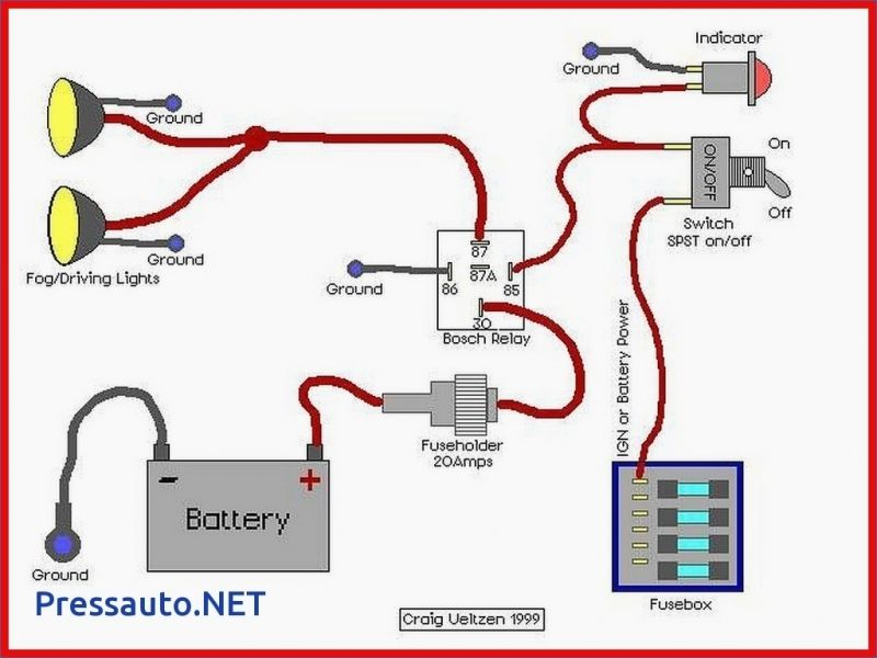 5 Pin Relay Wiring Diagram Driving Lights How To Wire Pressauto Nissan Xterra Automotive Electrical Electricity