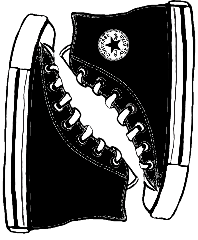 Converse template black by Tuck3rddeviantart