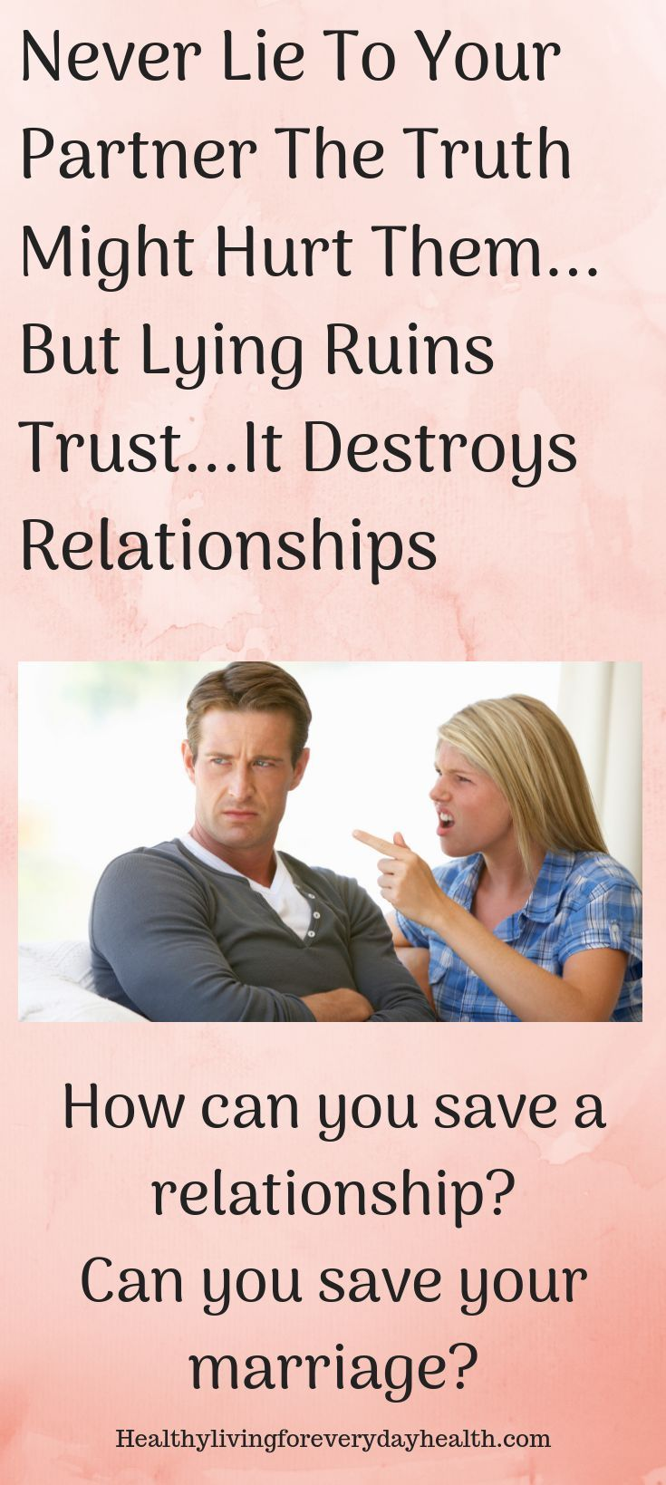 My Husband Is Lying To Me   Relationship problems breakup