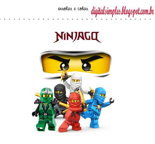 Kit para Fiesta de Ninjago para Imprimir Gratis. | Cumple MATI 5 ...