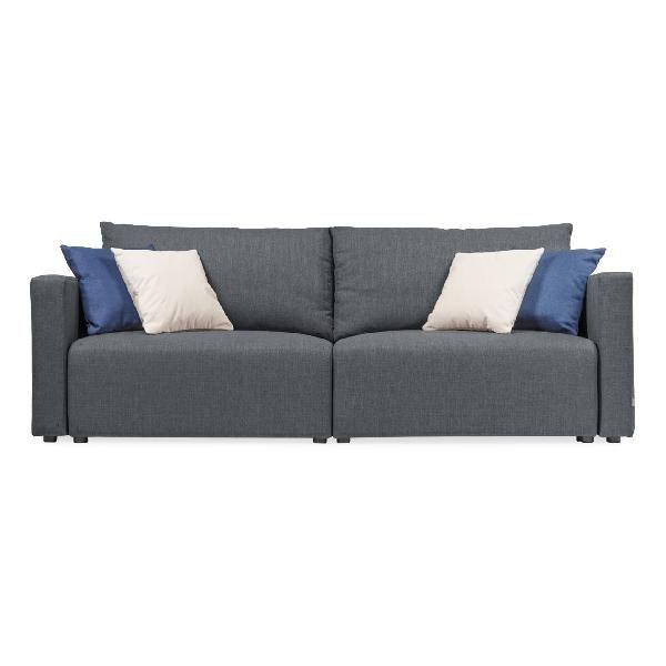TEO - ALLROUNDER FÜR ENTSPANNUNG / Gemütlich entspannen oder - wohnzimmer couch gemutlich