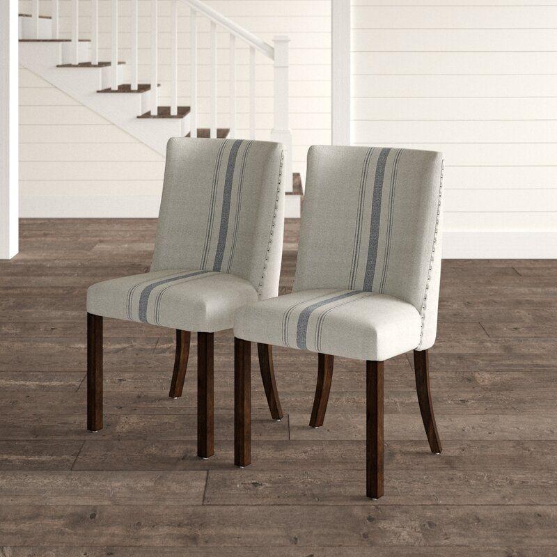 Donavan upholstered dining chair reviews birch lane in