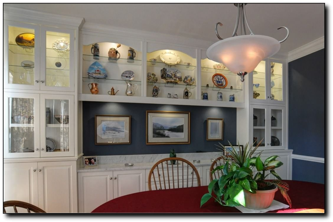 Image Result For Dining Room Built In Cabinets