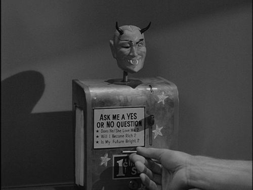 The Mystic Seer From The Nick Of Time Episode Of The Twilight Zone 1960 Twilight Zone This Or That Questions Twilight Zone Episodes