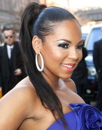 Pin by Hair Styles on Ponytail Hairstyles Black ponytail hairstyles Cute ponytail hairstyles