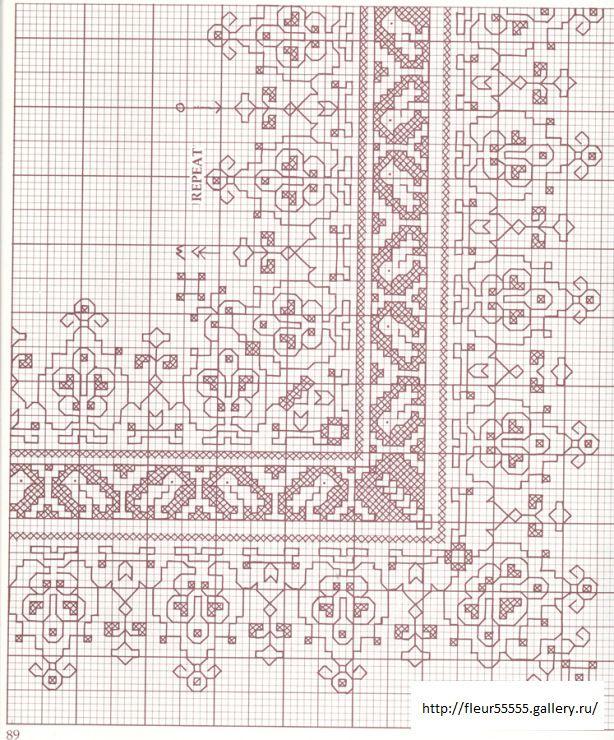 67 22 fleur55555 pattern 2 pinterest blackwork cross stitch. Black Bedroom Furniture Sets. Home Design Ideas