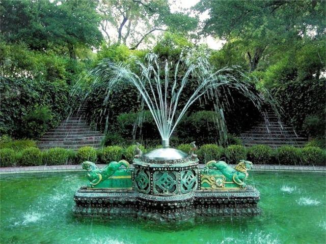 Chandor Gardens Fountain Restoration | Texas Life | Pinterest | Pond ...