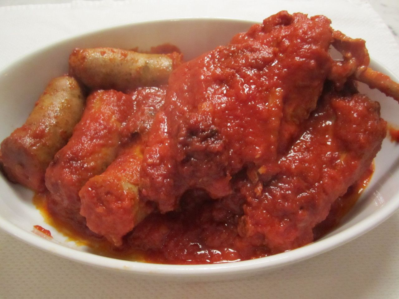 This dish is straight from my mother's home town in Calabria. Even in the summertime, the sauce is a staple which is served on pasta several days a week. When my mother and I spent three …
