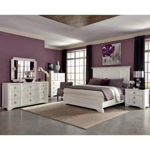 Donny Osmond Home Furiani King Bedroom Group Coaster Fine Furniture