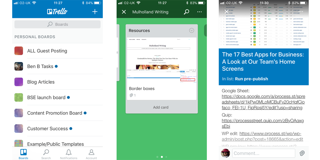 Best Mobile Apps for Business Trello Best mobile apps