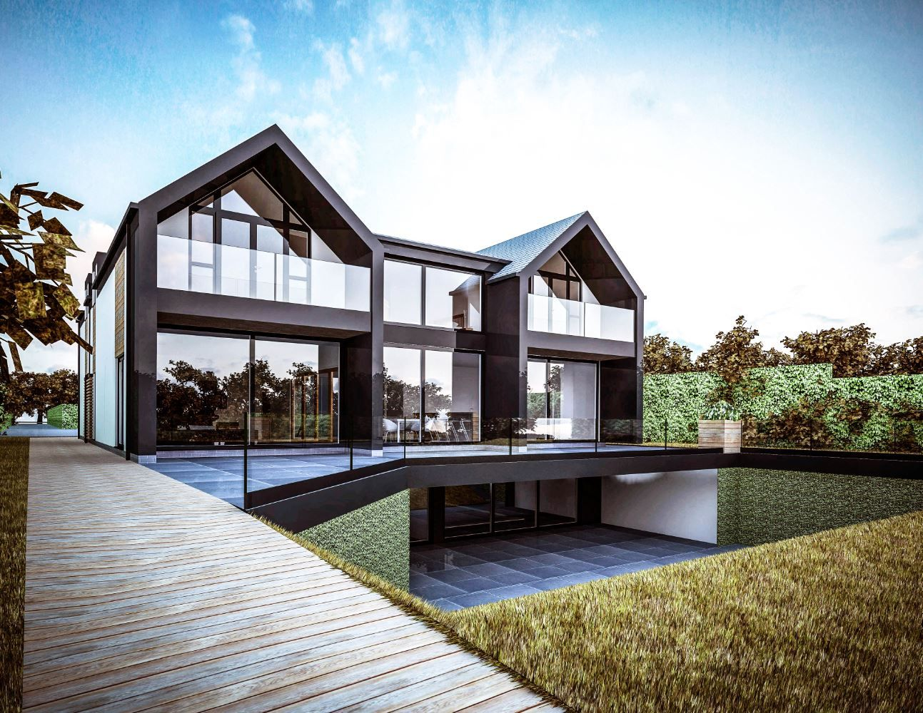 Contemporary House Newcastle Extensions In 2019 House Design