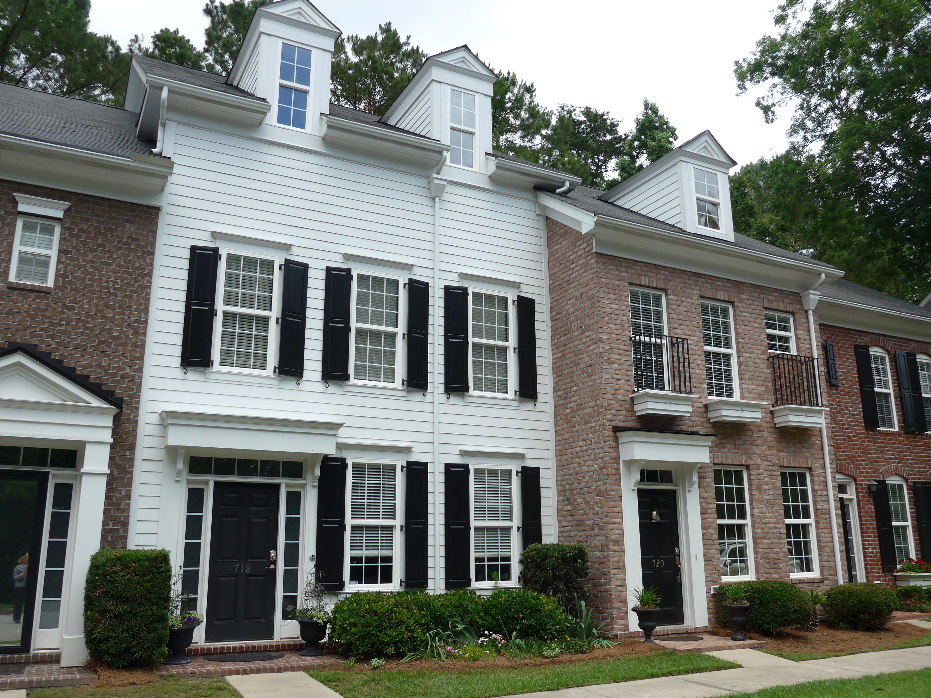 Fine European Style 3 Story Townhome Quiet Street Lots Of Parking