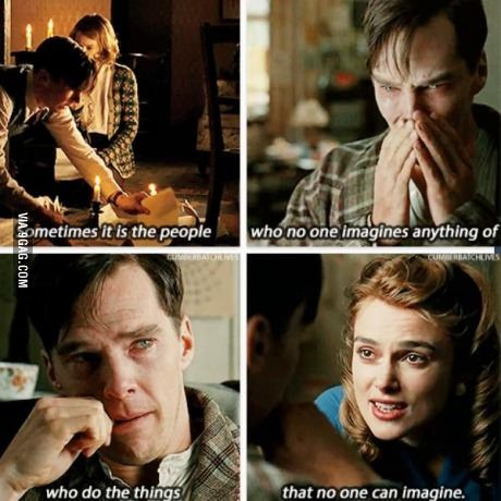 Wise Words.. (The Imitation Game (movie)