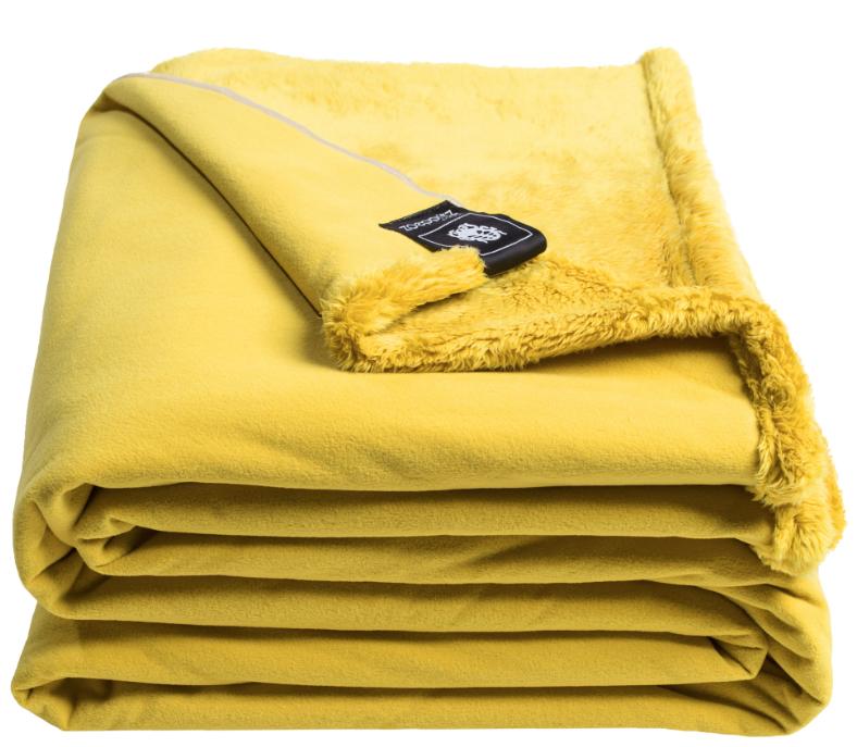 Zoeppritz Reborn Bliss Decke Gelb In 2020 Wohndecke Decke Sofa Decke