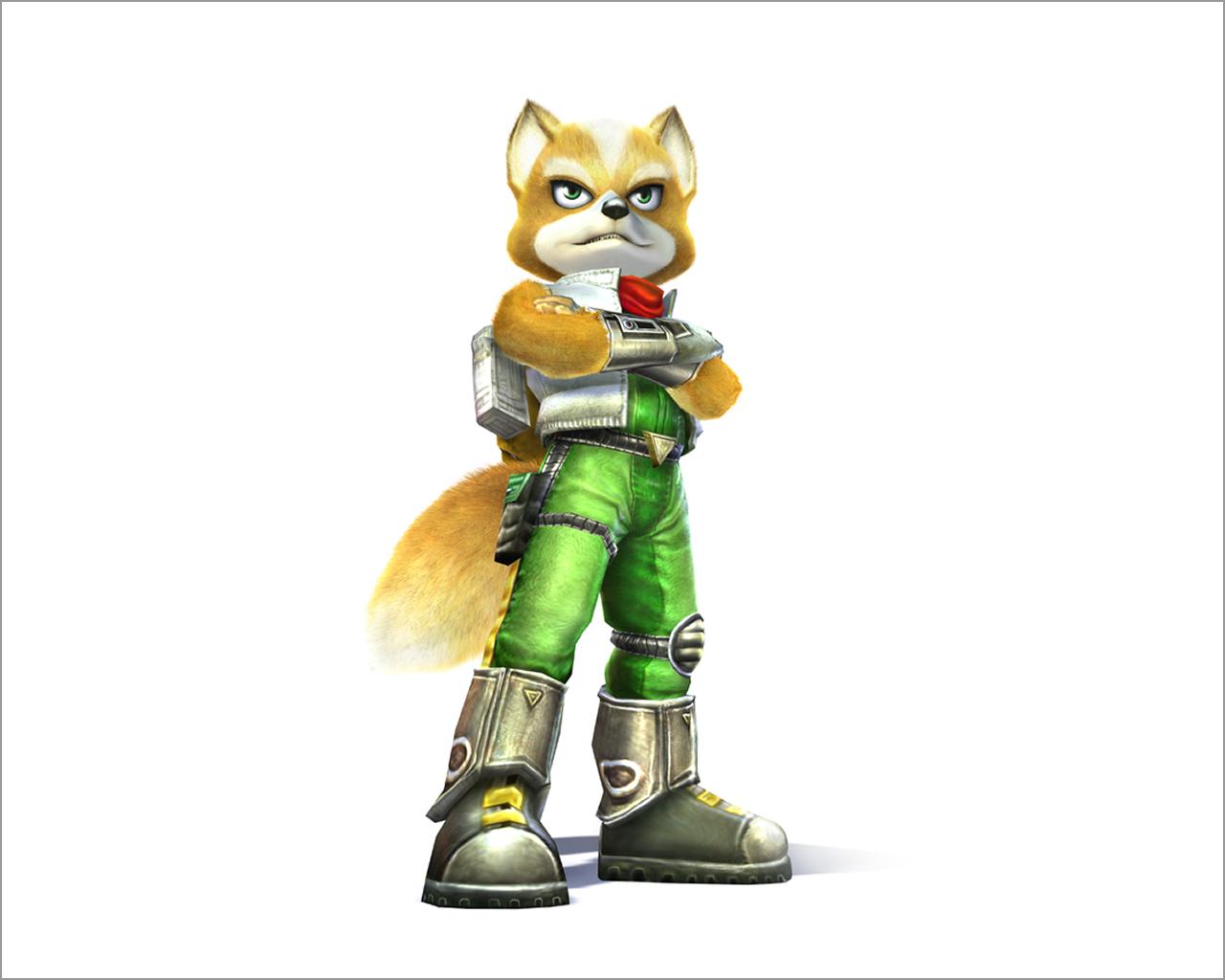Star Fox Adventures Game Star Fox Fox Mccloud Character Design