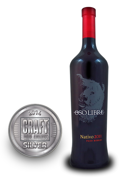 Craft Wine Awards 2014 | Oso Libre Nativo 2011