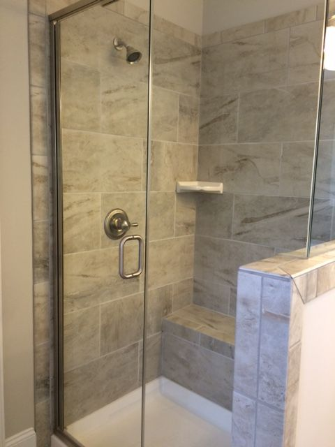 Owner S Shower Ao Danya Stream Tile Bathrooms In 2019