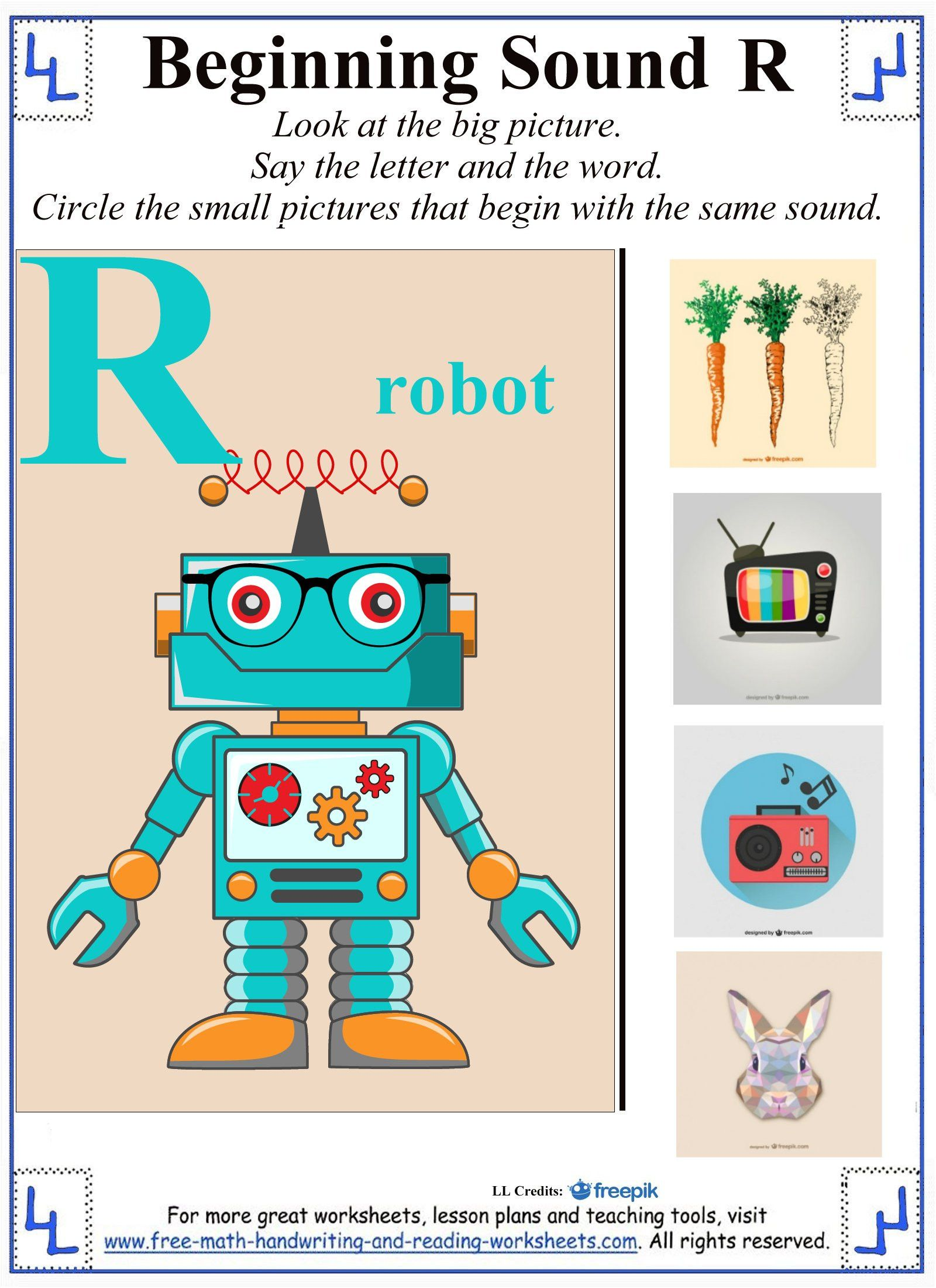3 Free Preschool Kindergarten Worksheets Consonants
