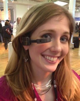 @FonefinderSA - I don't think I'll ever be ready for this, but it is cool :) Vuzix Smart Glasses to take on Google Glass
