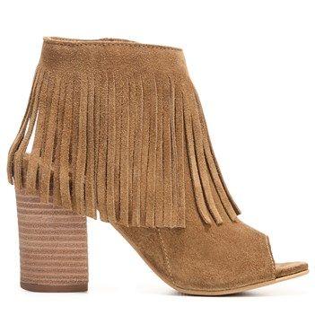 CARLOS BY CARLOS SANTANA Women's Jasper Peep Toe Shootie Boot, tried these  on at TJMAXX