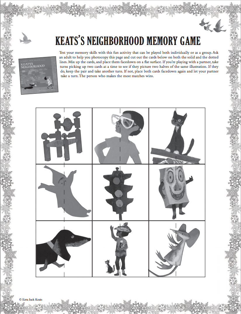 Print out coloring pages a memory game and more fun activities