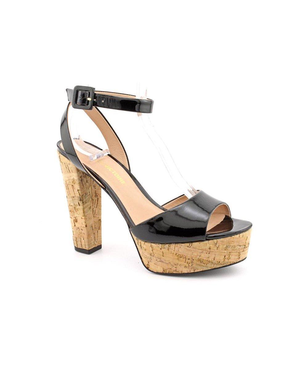 Pour La Victoire Pour La Victoire Nasha Women Open Toe Patent Leather Platform Sandal Pourla Patent Leather Style Leather Platform Sandals Leather Sandals