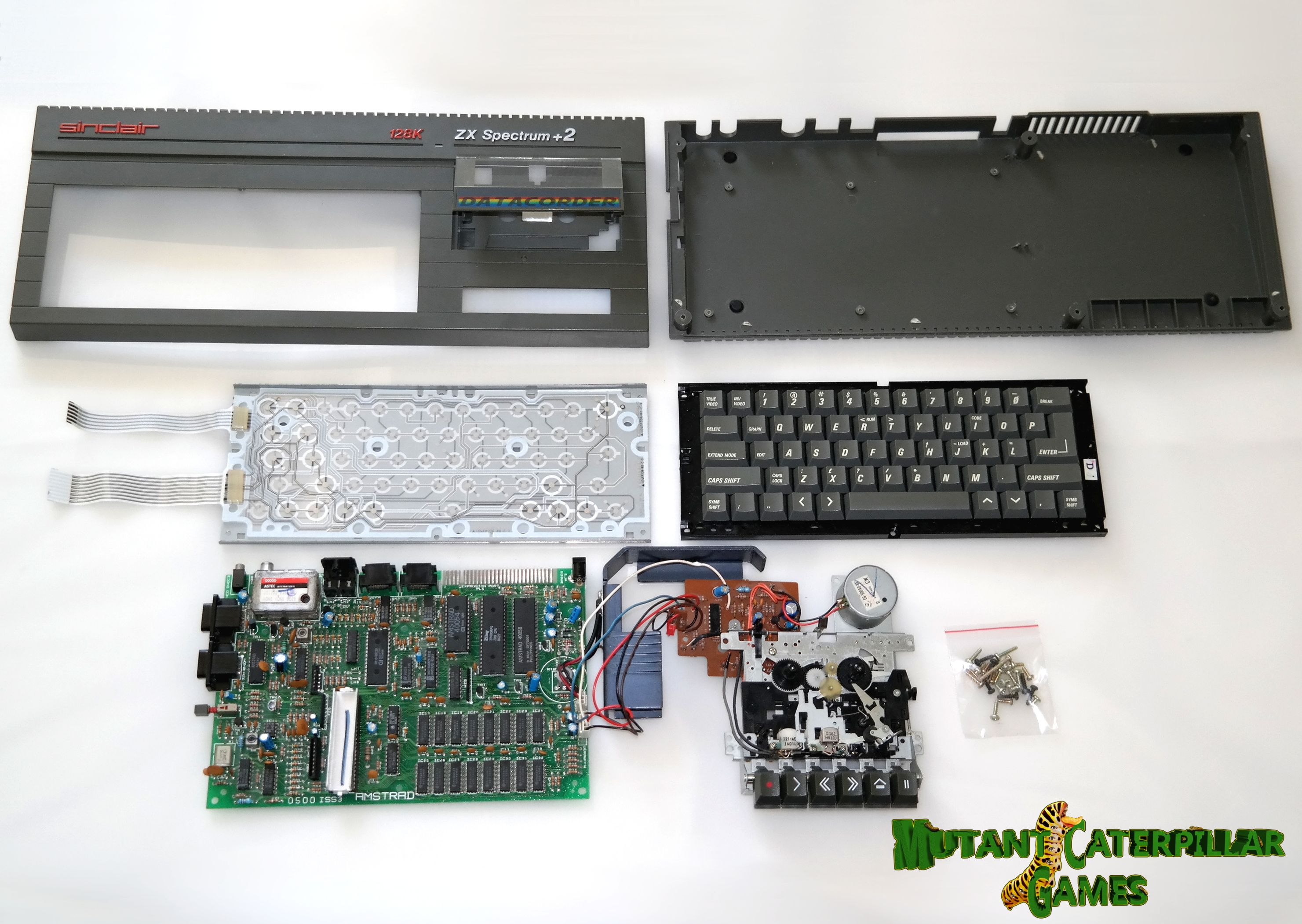 Sinclair Zx Spectrum 128k 2 Refurbishment Service Mutant