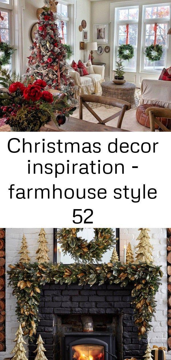 Christmas decor inspiration - farmhouse style 52 #magnoliachristmasdecor Stunning Farmhouse Christmas Decor Inspiration! • Just Life And Coffee Brin... #christmas #decor #farmhouse #inspiration #magnoliachristmasdecor #stunning #style #magnoliachristmasdecor