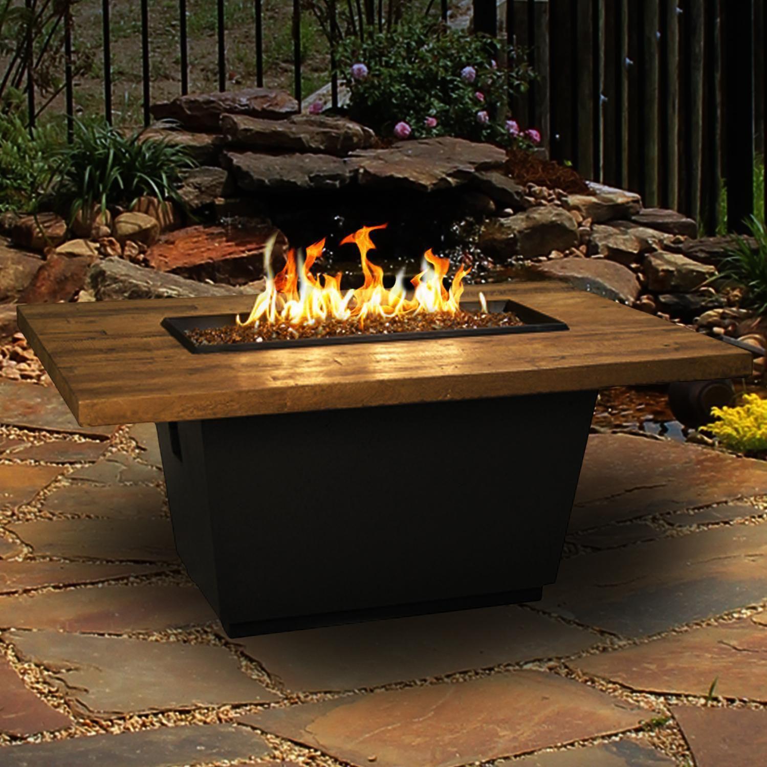 American fyre designs cosmopolitan inch french barrel oak propane