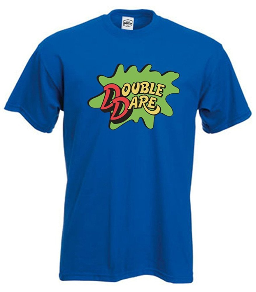 King Threads Blue Double Dare Logo Nickelodeon T Shirt Tunisex 07873 17 90 Myshirtsmall Com In 2020 T Shirt Costumes T Shirt Shirts